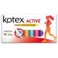 Тампоны Кotex (Котекс) Active Normal, 16 шт