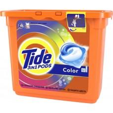 Гель для стирки в растворимых капсулах автомат Tide (Тайд) Color, 23 шт*24,8 г