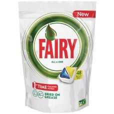 Капсулы для посудомоечных машин Fairy Original All in One, 48 шт