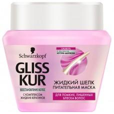 Маска для волос Gliss Kur Жидкий Шелк Питательная для ломких, 300 мл