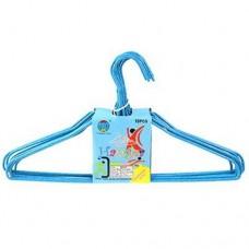 Вешалка-плечики для сорочек пластмассовая Крапинка, р 42-44, покрытие ПВХ метал, 2,5 мм, 10 шт