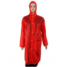 Дождевик-плащ пвх на кнопках, цвета микс, 62х120 см
