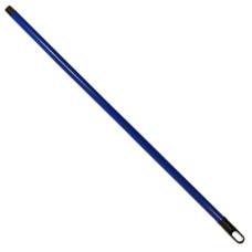 Рукоятка металлическая для швабры Моно, с резьбой, цвета микс, 120х2,2 см