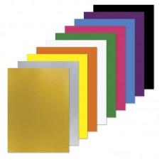 Картон цветной Пифагор Волшебный А4 немелованный, в пакете, 200х283 мм, 10 листов, 10 цветов