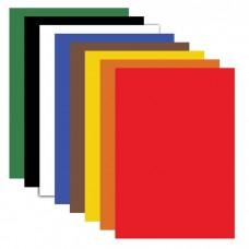 Картон цветной Пифагор А4 немелованный, в пакете, 200х283 мм, 8 листов, 8 цветов