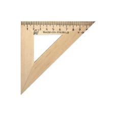 Треугольник деревянный, угол 45, 11 см