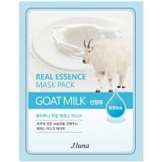 Тканевая маска Jluna с экстрактом Козьего молока