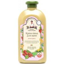 Крем-пена для ванн Рецепты бабушки Агафьи Антистресс, 500 мл