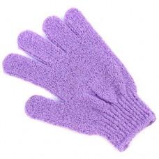 Перчатка массажная вязанная, цвета микс, 17х12 см