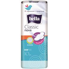 Гигиенические прокладки Bella (Белла) Classic Nova, 3+ капли, 10 шт