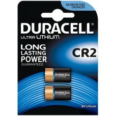 Батарейка литиевая Duracell (Дюраселл) CR2, 2 шт