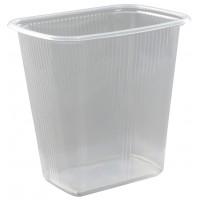 Контейнер пластиковый одноразовый, 108х82 мм, 500 мл