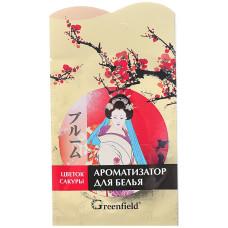 Ароматизатор для белья Greenfield (Гринфилд) цветок Сакуры