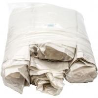 Мешки для мусора ПВД MirPack (МирПак) в пластах, белые, 40 мкм, 120 л, 70х110 см