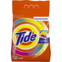 Стиральный порошок автомат Tide (Тайд) Color, 2,4 кг