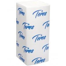 Листовые полотенца Teres (Терес) Стандарт Т-0226АПЭ V-сложения, 1-х слойные, 23х21 см, 180 листов
