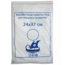 Пакет пищевой фасовочный в рулоне, 24х37 см, 1000 шт