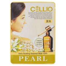 Тканевая маска Cellio (Селио) с экстрактом Жемчуга