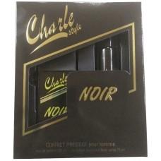 Мужской набор Чарли Стайл Ноир (туалетная вода 100 мл + дезодорант спрей 75 мл)