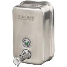 Диспенсер для жидкого мыла Лайма Professional, нержавеющая сталь, матовый, 0,5 л