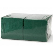 Салфетки бумажные БигПак Professional, 1-х слойные, (зеленые), 24*24 см, 400 л