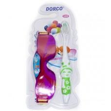 Детская зубная щетка Dorco (Дорко) с игрушкой Очки, 1 шт