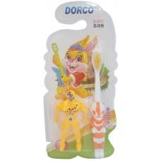 Детская зубная щетка Dorco (Дорко) с игрушкой Бэтмен