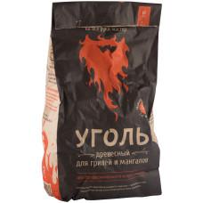 Уголь древесный Pikmeister, мешок, 12 л (1,2 кг)