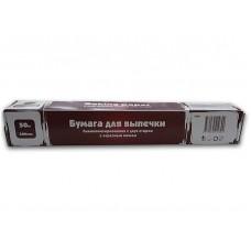 Бумага для выпечки силиконизированная, в коробке с ножом, 38 см, 50 м