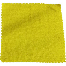Салфетка из микрофибры (без упаковки) Ultra, цвет жёлтый, 25х25 см