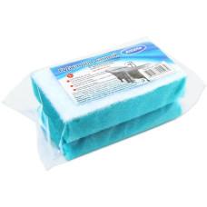 Губка для акриловых ванн профильная Антелла, 14х8х5 см, 1 шт