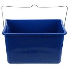 Ведро пластиковое для краски прямоугольное, 26х34х20 см, 12 л