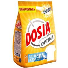 Порошок стиральный автомат Dosia (Дося) Optima Альпийская свежесть, 1,2 кг