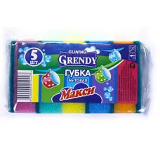 Губка для посуды Grendy (Гренди) Макси, 5 шт