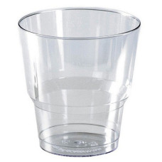 Стакан одноразовый Кристалл ПП, прозрачный, 200 мл