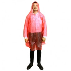 Дождевик-пончо ПВХ, цвета микс, 80х105 см