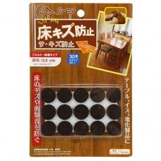 Подпятники для мебели комплект, войлок, в блистере, д2 см, 30 шт