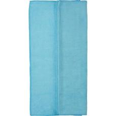 Салфетка из микрофибры (без упаковки) Стандарт, цвет голубой, 50х80 см