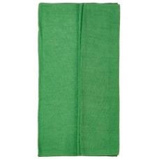 Салфетка из микрофибры (без упаковки) Стандарт, цвет зеленый, 50х80 см