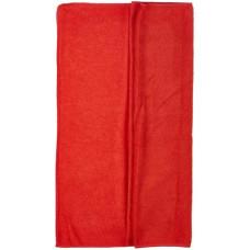 Салфетка из микрофибры (без упаковки) Стандарт, цвет красный, 50х80 см