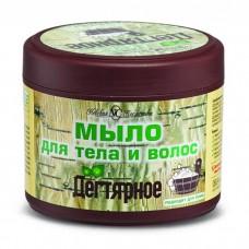 Мыло для тела и волос Невская Косметика Дегтярное, 300 мл