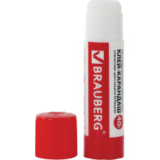 Клей-карандаш BRAUBERG, 40 г