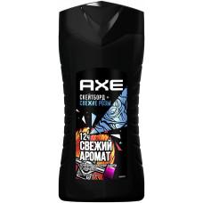 Гель для душа мужской Axe (Акс) Скейтборд и Розы, 250 мл