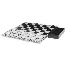 Шашки На каждый день, шашки пластик, поле картон, 22,5х22,5 см