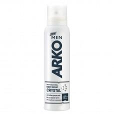 Дезодорант спрей мужской Arko (Арко) антибактериальный Crystal, 150 мл