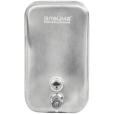 Диспенсер для жидкого мыла Лайма Professional Inox, нержавеющая сталь, матовый, наливной, 1 л