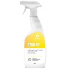 Антисептик кожный дезинфицирующий спиртосодержащий (70%) Grass Deso C9, готовый раствор, распылитель, 600 мл