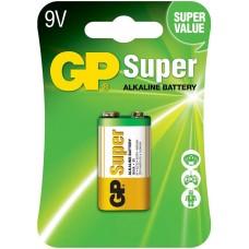 Батарейка крона GP Super 6LR61, 1 шт