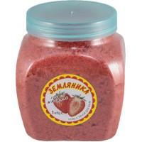 Соль с пеной для ванн Dream Nature Земляника, 1 кг