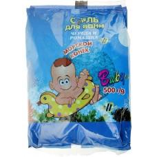 Соль для ванн Dream Nature Морской конек череда и ромашка, 500 г